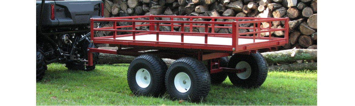 7740UTV Twin Axle ATV Trailer